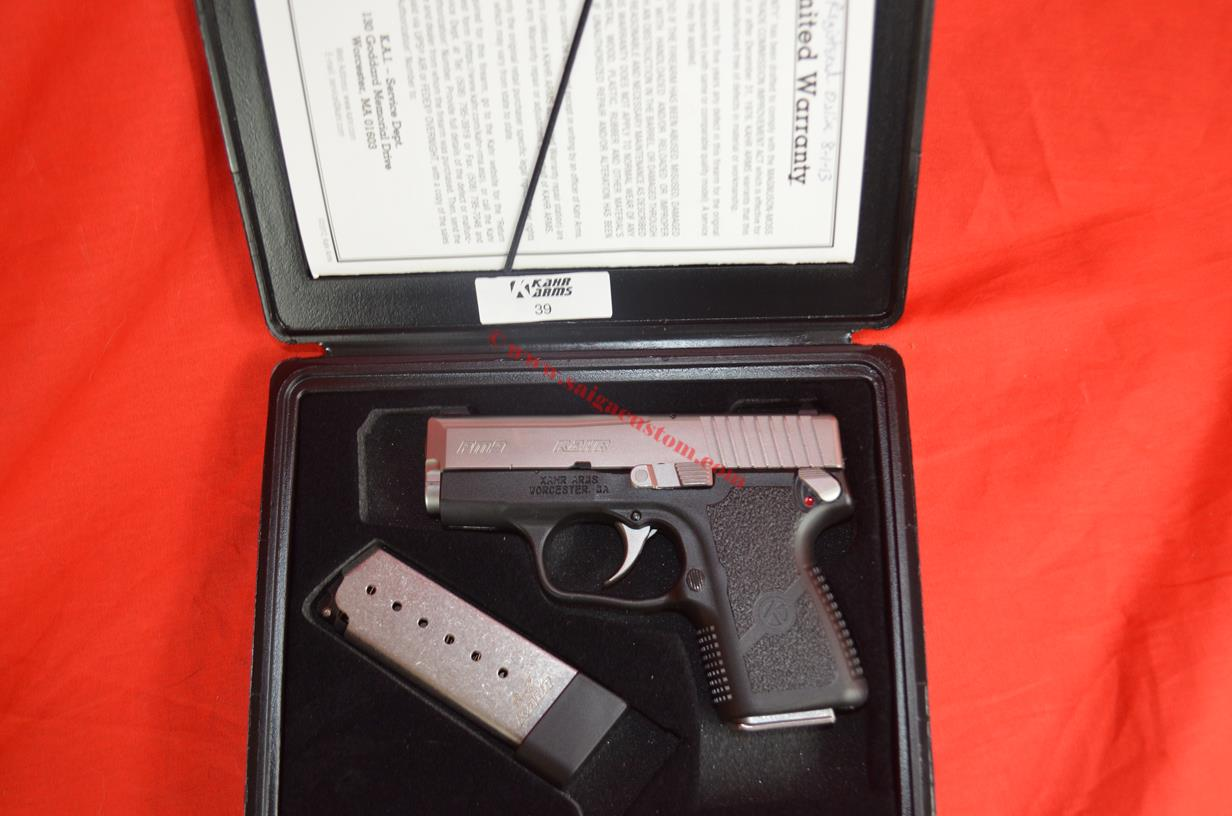 Kahr PM9 Compact Pistol 9mm USED in Xclnt condition