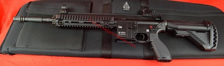 Heckler & Koch HK 416D  Rivle with Case  USED gun, New Case