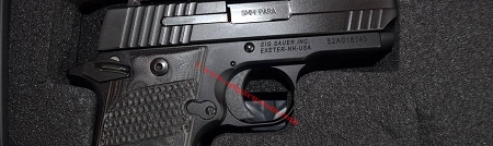 Sig Sauer P938 Extreme Pistol==USED In Excellent Shape==9mm