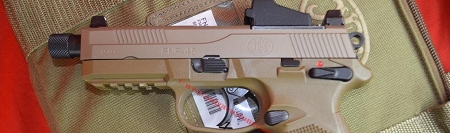 FN Herstal FNP-45 Pistol Trijicon RMR TAC-PAC FDE  USED