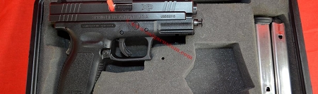 Springfield XD-45 LE Pistol Former LE Pistol Good/Very Good Condition