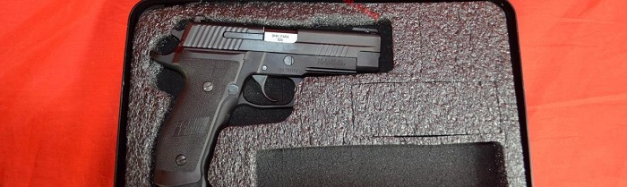 Sig Sauer P226 9mm TACOPS Pistol USED